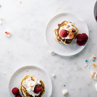 Fruity Pebble Pancakes.