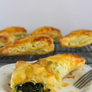 Spinach Gruyere Turnovers