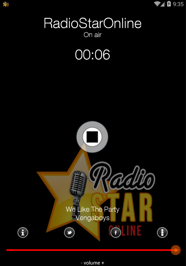 RadioStarOnline- screenshot