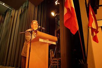Photo: Ansprache vom Präsidenten der Schützenveteranen