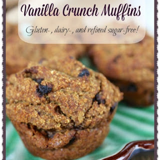 High-Protein Vanilla Crunch Muffins
