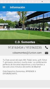 Club Deportivo Somontes - náhled