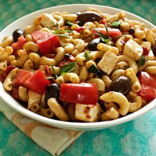 Mediterranean Macaroni Salad