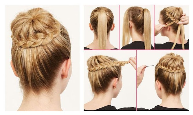 Hair Style Steps - screenshot