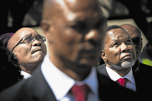 WE'RE DOING FINE: A reader says President Jacob Zuma and his deputy, Kgalema Motlanthe, do not need to adopt foreign policies as the ANC policy structure puts people first Picture: DANIEL BORN
