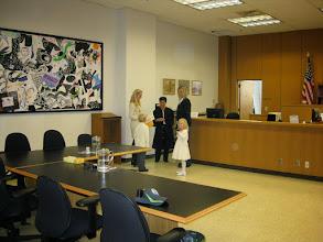 Photo: Meeting with Judge Mary Yu