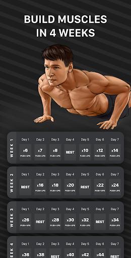Muscle Booster Workout Planner  screenshots 1