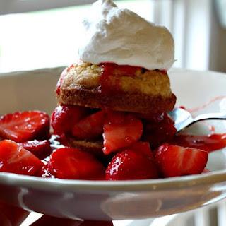 Strawberry Muffin Shortcakes