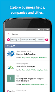 Jobspotting Job Search- screenshot thumbnail