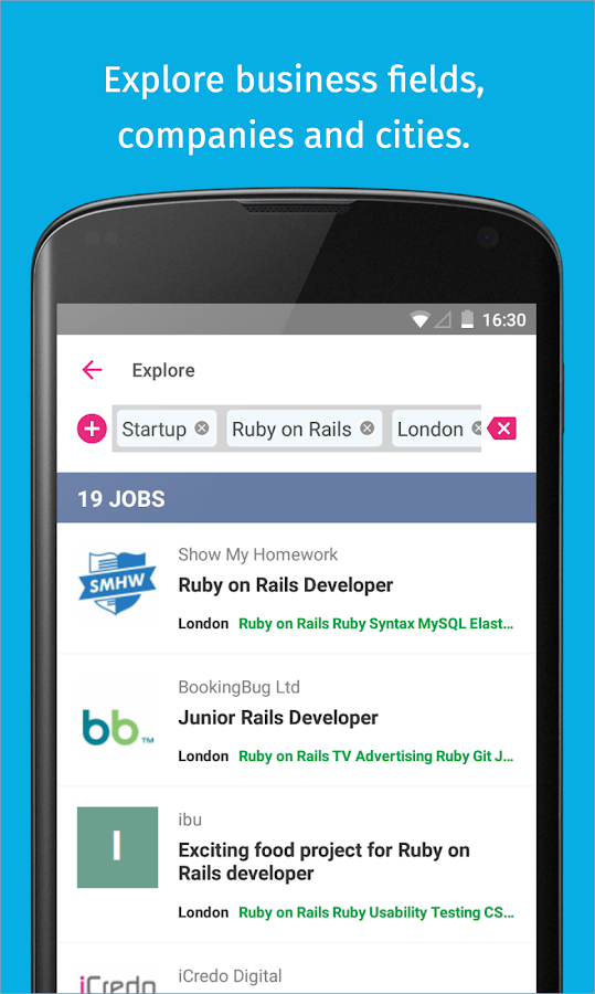 Jobspotting Job Search- screenshot