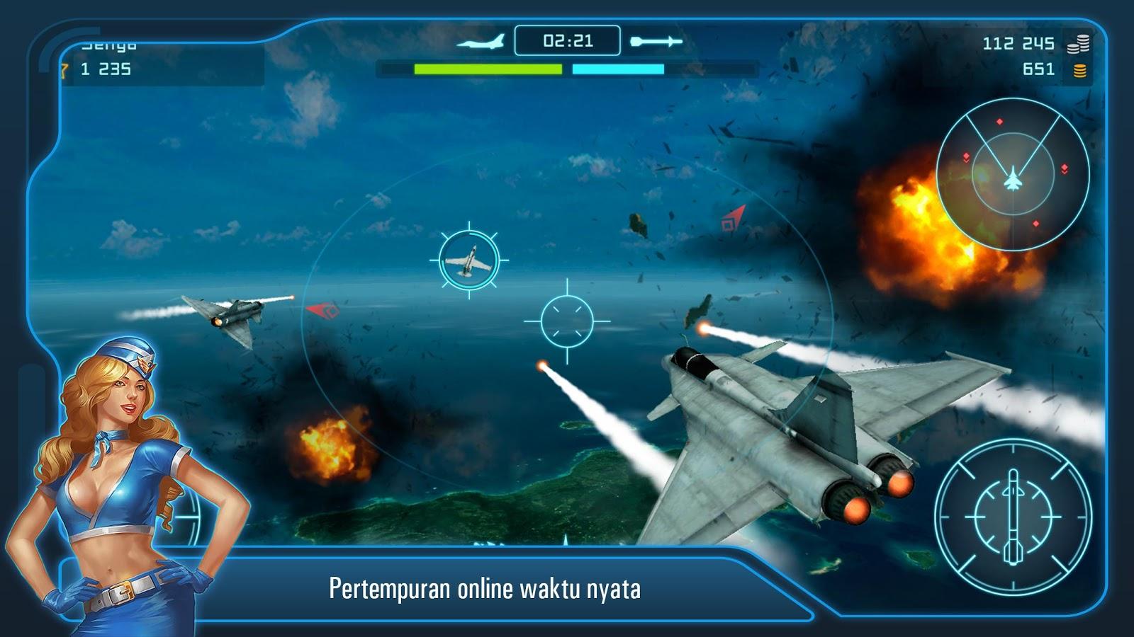 Gambar Battle Warplanes Simulator Penerbangan Pesawat Apl Android