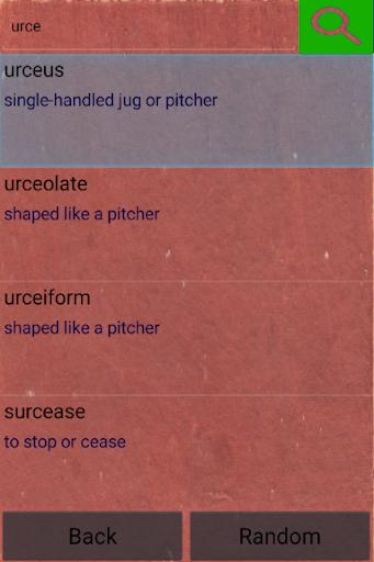 Quiz - unusual words  screenshots 6