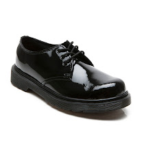 Dr Martens Everly Patent School Shoe SCHOOL LACE UP