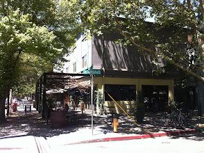 Photo: coffee shop on opposite corner