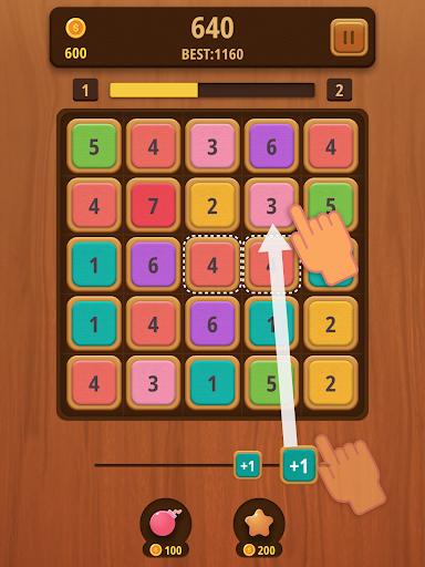 Mergezilla - Number Puzzle apktram screenshots 8