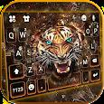 Roaring Fierce Tiger Keyboard Theme