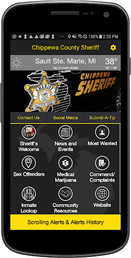 Chippewa County Sheriff's Office (MI) - screenshot