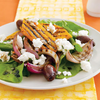 Grilled Squash Salad.
