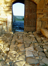 Photo: Apollonia - Entrance to the Monastery of St. Mary, now museum
