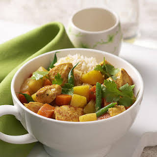 Chicken and Vegetable Curry.