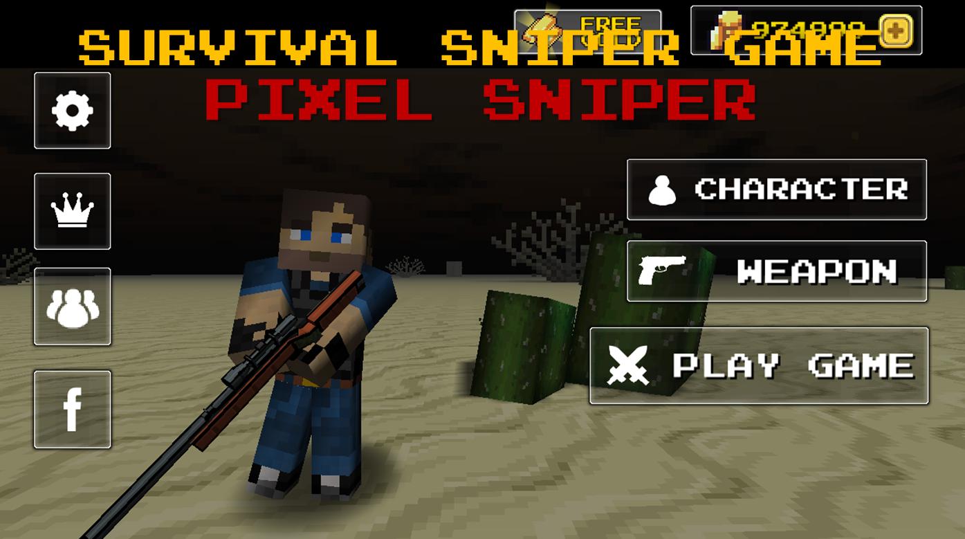 Pixel Sniper Zombie Apocalypse- screenshot