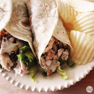 Chicken Wraps With Rice Recipes.