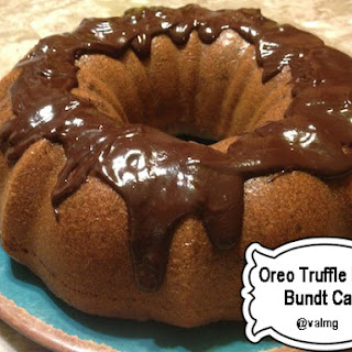 EASY OREO TRUFFLE FILLED BUNDT CAKE