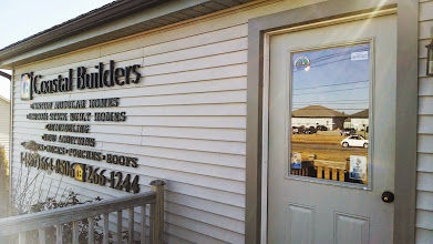 Photo: Coastal Builders & Sons in Trenton, ME proudly displaying their BBB Accreditation