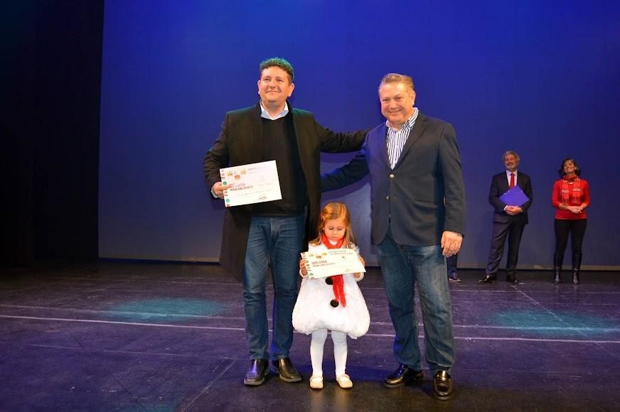 Coro de 3 y 4 años de Nuestra Señora de Fátima, primer premio infantil.