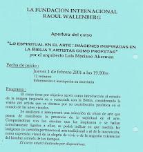 Photo: Mariano Akerman, Lo espiritual en el arte: imágenes inspiradas en la Biblia y artistas como profetas, Casa Argentina, febrero de 2001 http://mariano-akerman.blogspot.be/2012/10/lo-espiritual-en-el-arte.html ; http://akermariano.blogspot.com/2012/12/mariano-akerman.html