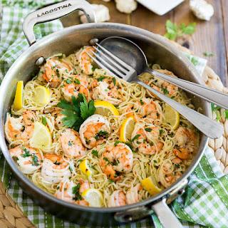 Garlic Butter Lemon Shrimp.