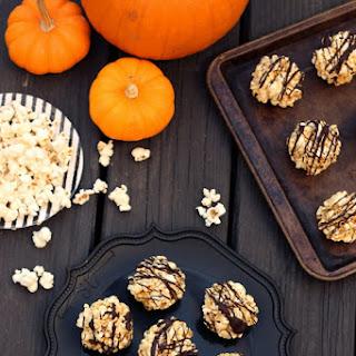 Dark Chocolate Drizzled Popcorn Balls (Gluten & Dairy-Free) Recipe