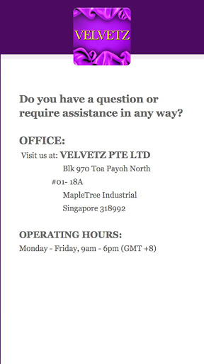 Velvetz App