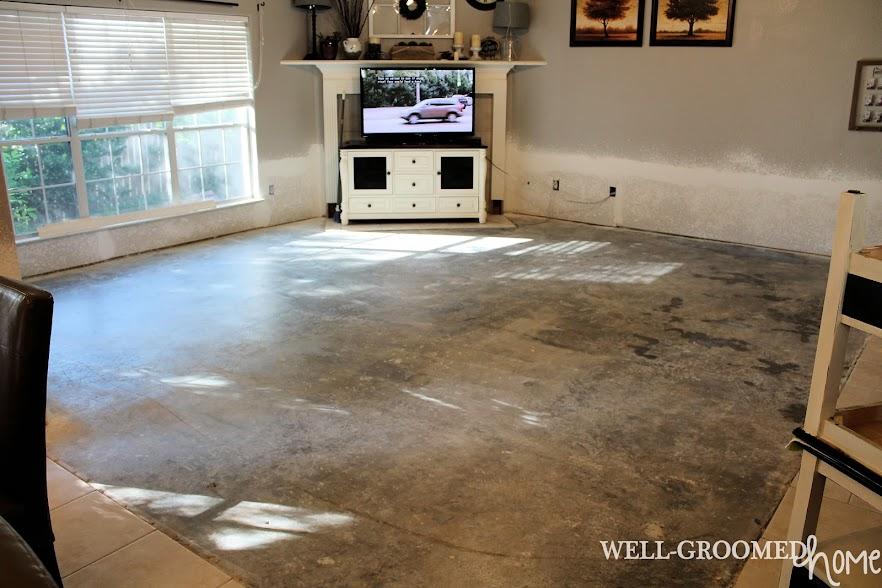 installing laminate floor