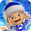 Baby Snow Park Winter Fun icon