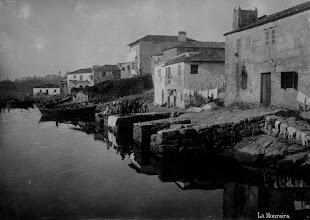 Photo: Ribeira dos peiraos. Onde remata o río Gafos