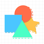 Positioning Shapes Icon