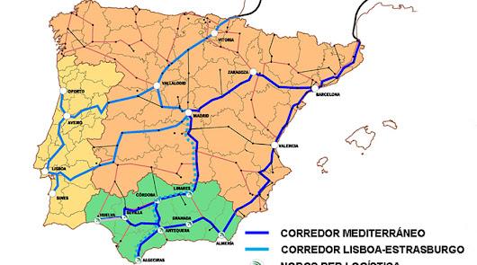 Críticas al alcalde de Granada por apoyar el Central del Corredor Mediterráneo