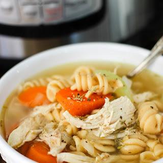 Instant Pot Chicken Noodle Soup.