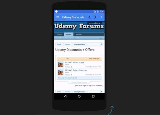 Online Udemy Forums