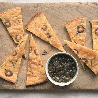 Olive Rosemary Flatbreads