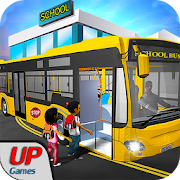 City School Bus Driving 2017: Parking Simulator 3D