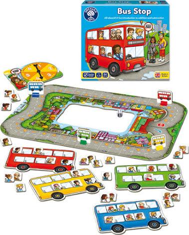 Buss-spelet - 7763-484-3