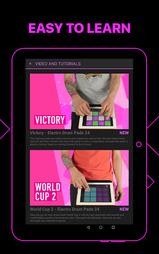 Electro Drum Pads 24 - Music & Beat Maker 2.5.5 screenshots 11