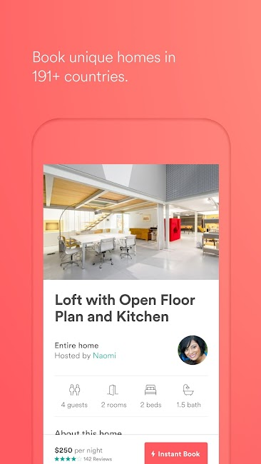 #1. Airbnb (Android)
