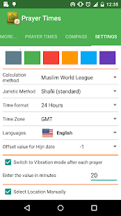 Islamic Prayer Times & Qibla - screenshot thumbnail
