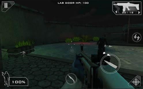 Green Force: Zombies HD- screenshot thumbnail