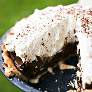 Kahlua Chocolate Cream Pie.