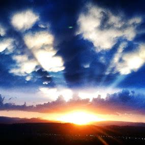 Heaven at Home by Kathlene Moore - Landscapes Sunsets & Sunrises (  )
