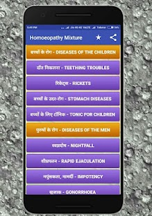 Homeopathy Mixtures - náhled